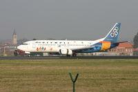 SX-BKD @ EBBR - flight OA145 just landed on rwy 25L - by Daniel Vanderauwera
