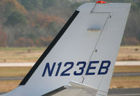 N123EB @ PDK - Tail Numbers - by Michael Martin