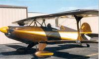 N124J @ GPM - Skybolt - John VanDyke in front seat