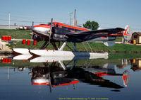 C-FSFH @ SELKIRK MA - Docked at Selkirk Manitoba - by J.G. Handelman