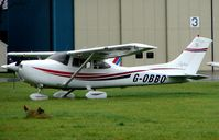 G-OBBO @ EGTK - at a very wet Oxford Kidlington