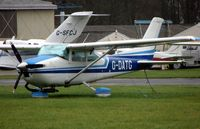G-DATG @ EGTK - Cessna F182P at a very wet Oxford Kidlington