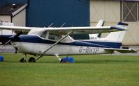 G-BHYP @ EGTK - Cessna F172M at a very wet Oxford Kidlington