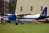 G-WIKY @ EGTK - Cessna Caravan at a very wet Oxford Kidlington