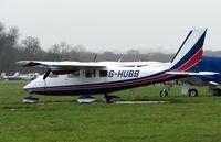 G-HUBB @ EGLD - Partenavia P68B at Denham