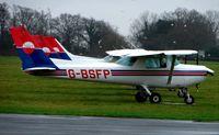 G-BSFP @ EGLD - Cessna 152 at Denham