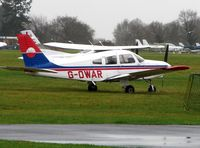 G-OWAR @ EGLD - Pa-28-161 at Denham