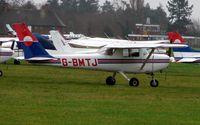 G-BMTJ @ EGLD - Cessna 152 at Denham