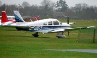G-BURT @ EGLD - Pa-28-161 at Denham