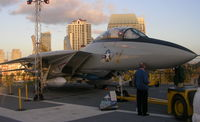 158978 - F-14 at Midway - by Florida Metal