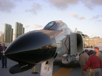 153030 - F-4H at Midway - by Florida Metal