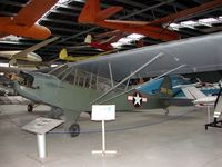 43-29233 - Piper Cub , preserved at the Poland Aviation Museum in Krakow , formerly wore the Civil marks of SP-AFP