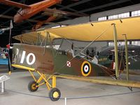 T-8209 - DH82A tiger Moth preserved at the Poland Aviation Museum in Krakow