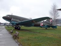 027 - This Lisunov Li-2T c/n 18439102 is preserved at the Poland Aviation Museum in Krakow - by Terry Fletcher