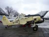 SP-PBK - Awaiting re-assembly at the Poland Aviation Museum in Krakow - by Terry Fletcher