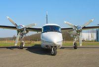 N129TB @ QFB - Gulfstream 690C - by J. Thoma