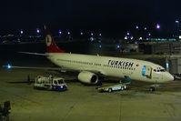 TC-JGO @ LTBA - Turkish Airlines Boeing 737-800