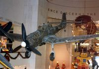 5954 - War Veteran Stuka at the Chicago Museum of Science & Industry - by Glenn E. Chatfield
