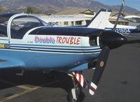 N26AE @ SZP - 1976 Siai-Marchetti SF.260B 'Double Trouble', Lycoming O-540-E4A5 260 Hp - by Doug Robertson