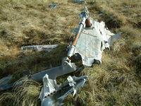 AE-501 - Wrecked Westland Puma of the Argentine AF located at the foot of Mount Kent, Falkland Island. This aircraft was destroyed during the 1982 Falklands Conflict. - by Steve Staunton