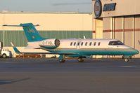 C-FVSL @ CYVR - London Air Services Learjet 45 - by Andy Graf-VAP