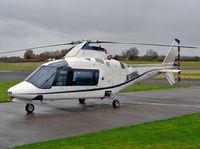 N109NL @ EGBO - Agusta A109A II - by Robert Beaver