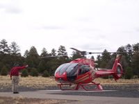 N132GC @ KGCN - Cleared for takeoff at Grand Canyon Helicopters - by Tom Norvelle