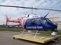 N6ZV @ KHOU - On the ramp at Hobby Airport in Houston, Texas, ready for the next story to break. - by Tom Norvelle
