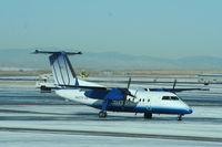 N447YV @ KDEN - DHC-8-200 - by Mark Pasqualino