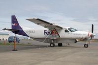 C-FEXX @ CYYJ - FEDEX Cessna 208 - by Andy Graf-VAP