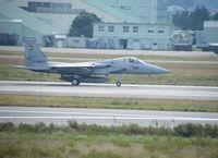 12-8923 @ RJNK - F-15J/Komatsu - by Ian Woodcock