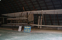 UNKNOWN @ NY94 - This beautiful Wright Flyer reproduction was built at the August Martin Hight School, Jamaica, NY, in the 1970s.  It was previously displayed at JFK and the Cradle of Aviation Museum. - by Daniel L. Berek