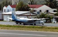 YV-822CP @ TNCM - This Gulfstream Commander 690D cn 15030 was photographed on the St.Maarten ramp in 2003