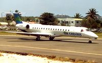 F-OIJE @ TNCM - Air Caribes Emb145 at St.Maarten in 1993