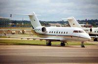 HZ-SJP3 @ EGLF - seen parked at Farnborough in 2002