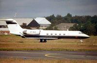 VP-BUS @ EGLF - G1159c at Farnborough in 2002