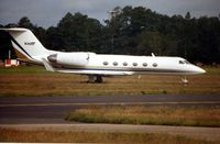 N366F @ EGLF - G1159c at Farnborough in 2002