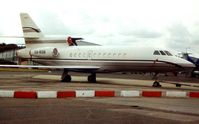 XA-RGB @ EGSS - Falcon 900 at Stansted  - aircraft became N999EH