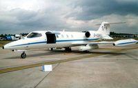 D-CGFE @ EGVA - Learjet 36 at RIAT 2003