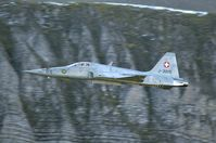 J-3015 @ AXALP - Low level throug the Alp valleys is the best way to take aircraft pictures.