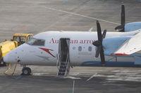 OE-LTG @ VIE - De Havilland Canada DHC-8-314Q
