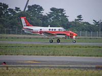 6810 @ RJOS - Beech TC-90/Tokushima - by Ian Woodcock