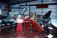 21067 - MiG-21F-13 at the National Air & Space Museum Paul Garber Facility.  Serial may be 2106; NASM is unsure - by Glenn E. Chatfield