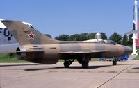 60-2105 @ OFF - MiG-21 at the old Strategic Air Command Museum - by Glenn E. Chatfield