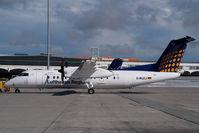D-BLEJ @ VIE - Augsburg Airways Dash 8-300 - by Yakfreak - VAP