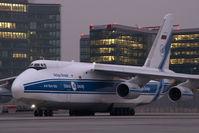 RA-82074 @ VIE - Volga Dnepr Antonov 124