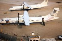 F-GKOB @ LFPO - ATR72 operating for Air Libertie in 1991 became HB-AFK with Farnair