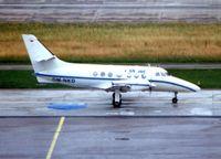 OM-NKD @ LSZH - SK Air's Jetstream 3102 cn 612 at Zurich - by Terry Fletcher