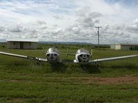 N87078 @ TCC - Twin (double) Ercoupe off I-40 near Tucumcari Airport