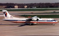 N434AT @ ORD - American Eagle ATR72 at Chicago O'Hare in 1999